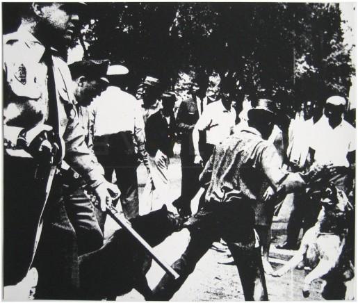 Andy Warhol, Birmingham Race Riot (FS II.3), 1964
