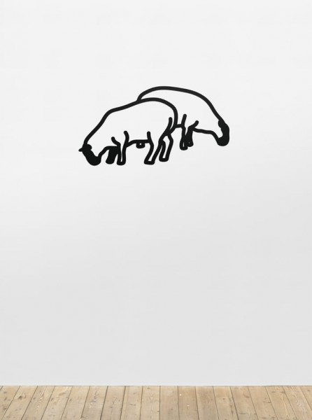 Julian Opie, Sheep 1, from Nature 1 Series, 2015