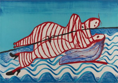 Hamlet and Ophelia (State V of VI) von Louise Bourgeois