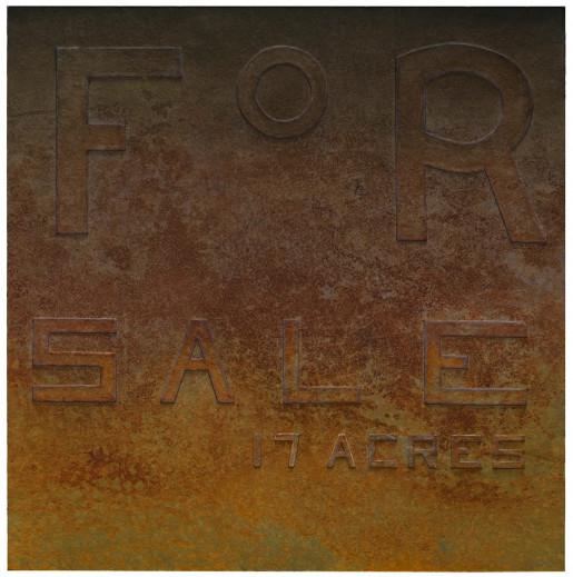 Ed Ruscha, Rusty Signs - For Sale, 2014