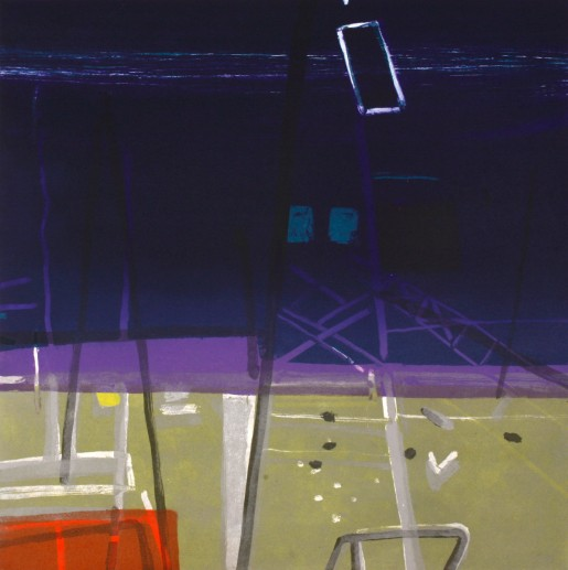 Barbara Rae, Docklands, 2006