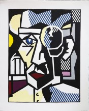 "Dr. Waldmann from the ""Expressionist Woodcuts"" Series"
