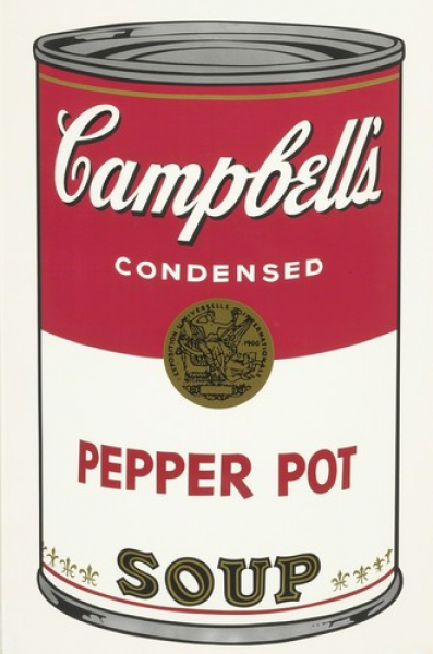 """Andy Warhol, Pepper Pot (FS II.51) from the Portfolio """"Campbell's Soup"""", 1968"""