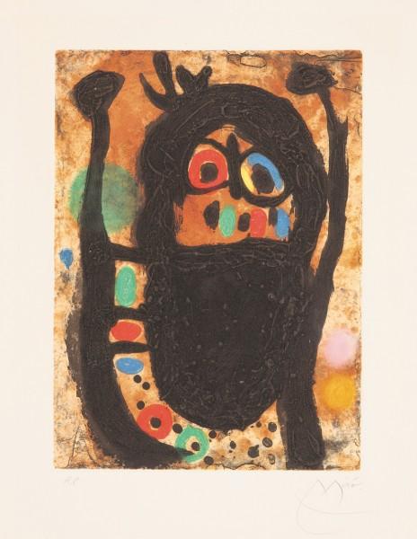 Joan Miró, La femme aux bijoux, 1968