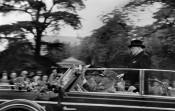 Churchill on His Visit to Zurich, Switzerland