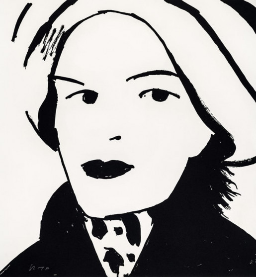 Alex Katz, Beauty 3, 2019