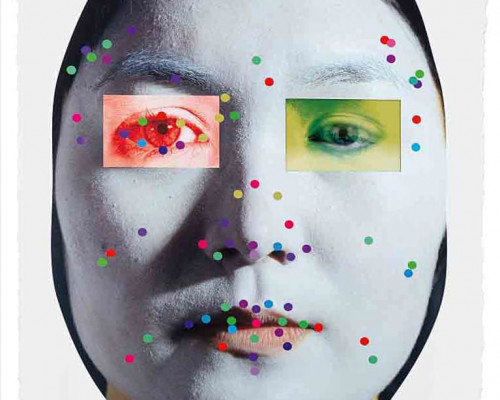 Recognition (image 5-1.3) von Tony Oursler