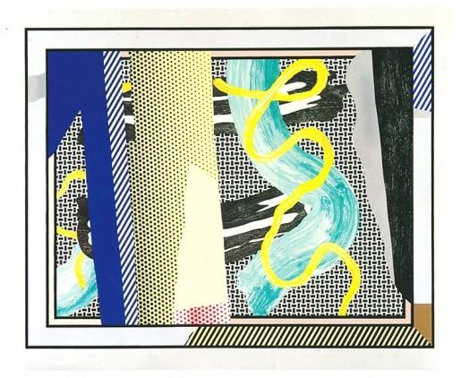 Roy Lichtenstein, Reflections on Brushstrokes, 1990