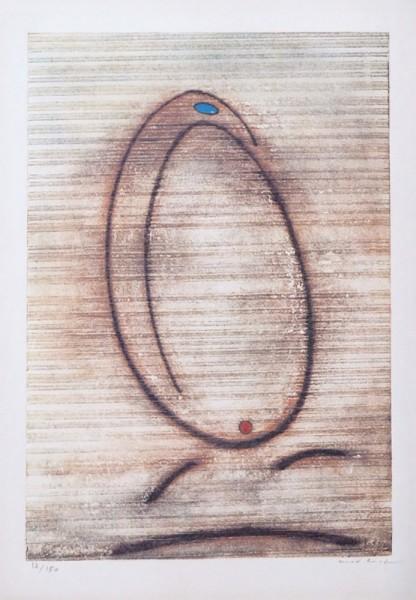 Max Ernst, L'Oiseau Caramel, 1969