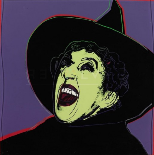 "Andy Warhol, The Witch (FS II.261), from the Portfolio ""Myths"", 1981"