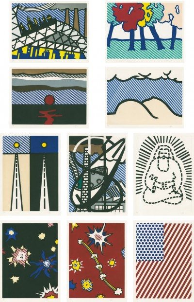 La Nouvelle Chute de lAmérique (The New Fall of America) von Roy Lichtenstein