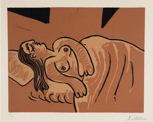 Pablo Picasso, Femme endormie (Dormeuse), 1962