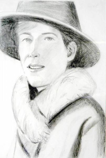 Alex Katz, Tracy, 2009
