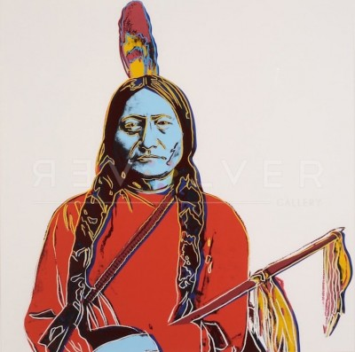 Sitting Bull (FS IIIA.70) von Andy Warhol