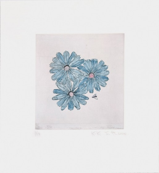 Kiki Smith, Flower and Bee (E), 2000