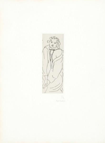 Henri Matisse, Figure au peignoir, 1929