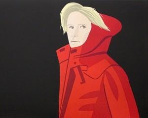Nicole (red coat) von Alex Katz