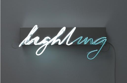 Brigitte Kowanz, Lighting, 2010