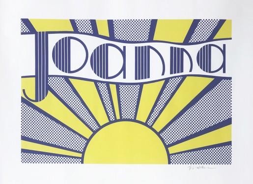 Roy Lichtenstein, Joanna (C. III.24), 1968