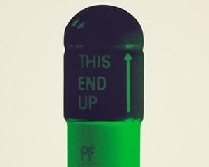 The Cure - Cream/Aubergine/Pea Green von Damien Hirst