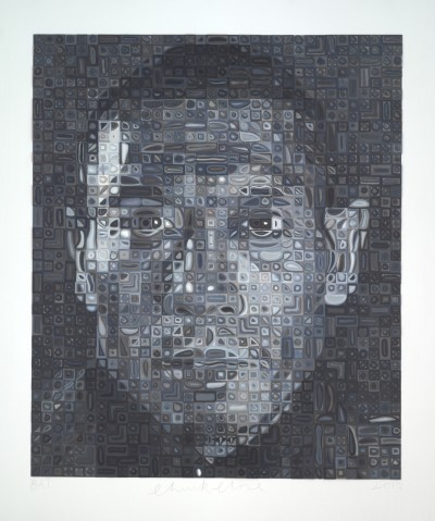 Zhang Huan II von Chuck Close