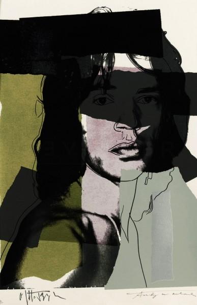 Andy Warhol, Mick Jagger (FS II.145), 1975
