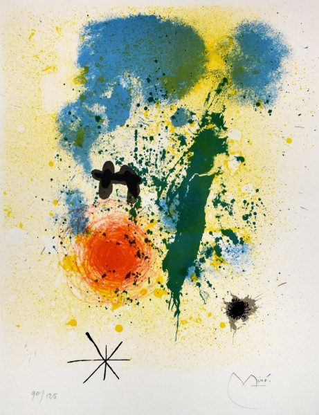 Joan Miró, Preface, from: 52 Affiches, 1963
