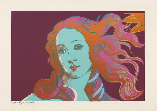 Andy Warhol, Details of Renaissance Paintings (Sandro Botticelli, Birth of Venus, 1482) (FS II.317), 1984