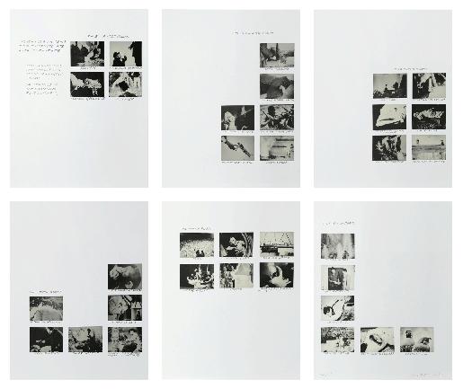 John Baldessari, Six Rooms, 1993