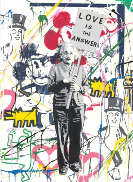 Mr. Brainwash, Einstein meets Mickey, 2019