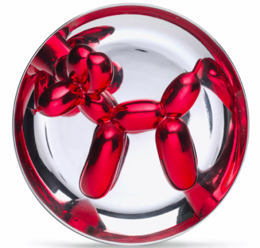 Jeff Koons, Balloon Dog (Red), 1995