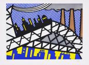 Illustration for 'Bayonne en Entrant dans NYC', from La Nouvelle Chute de l'Amérique