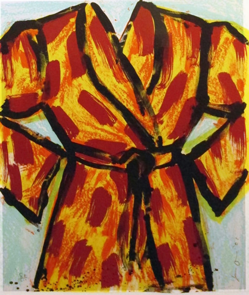 Jim Dine, Black Ink Robe, 2005
