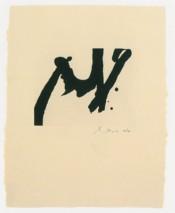Calligraphic Study IV
