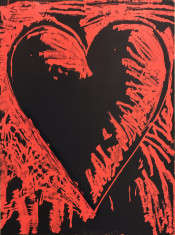 The Black and Red Heart