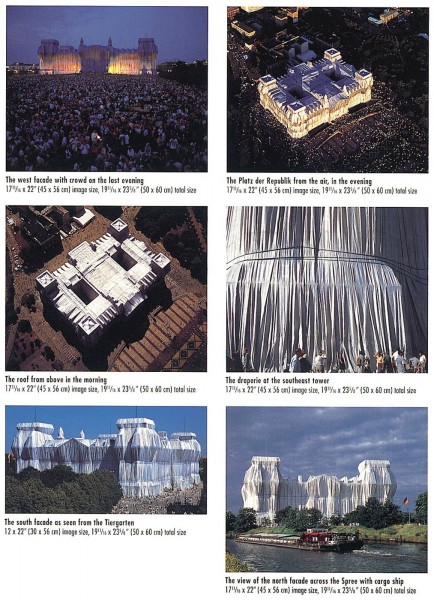 Christo & Jeanne-Claude, Reichstag Suite II, 1971/1995