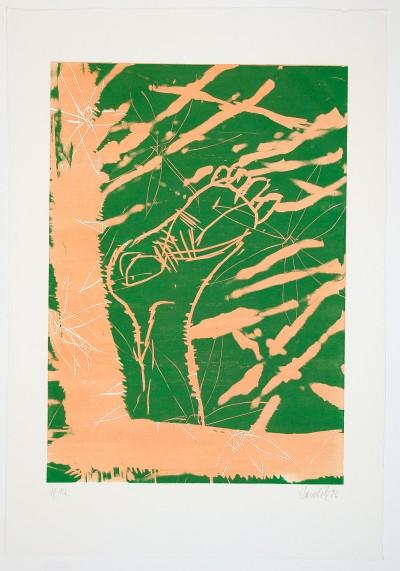 Georg Baselitz, Auch Fuß, 1996