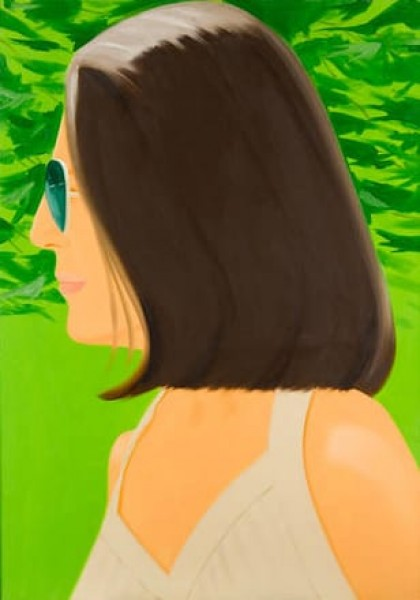 Alex Katz, Ada in Spain, 2018