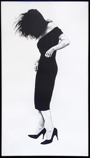 Robert Longo, Gretchen, 1984