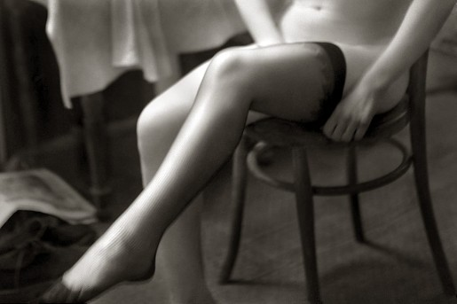 René Groebli, Strümpfe, Paris (Stockings, Paris), 1952
