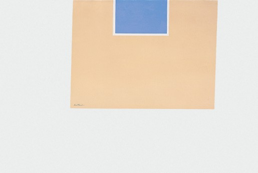 Robert Motherwell, London Series II: Untitled (Blue/Tan), 1971