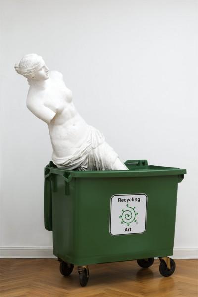 Recycling Art von Bjørn Nørgaard