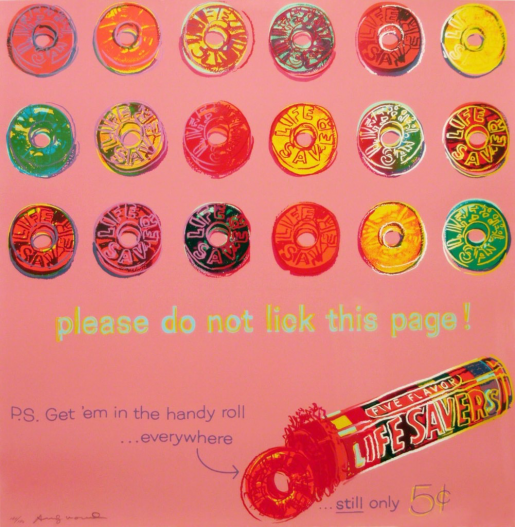 Andy Warhol, Life Savers (FS II.353), 1986