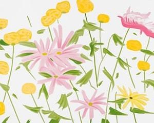 Spring Flowers von Alex Katz