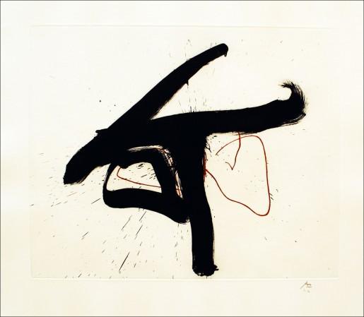 Robert Motherwell, Lament for Lorca, 1991