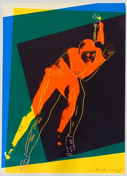 Andy Warhol, Speed Skater, 1983