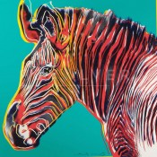 "Grevy's Zebra (FS II.300), from the Portfolio ""Endangered Species"""