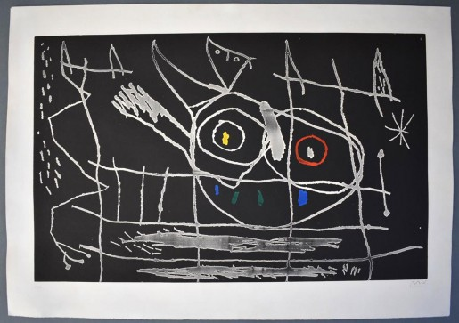 Joan Miró, Couple of Birds III | Couple d'Oiseaux III, 1966