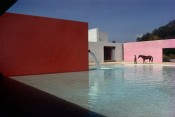 Stable and Pool, Luis Barragan and Andres Casillas, Mexico City