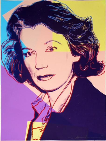 Andy Warhol, Mildred Scheel (FS II.239), 1980